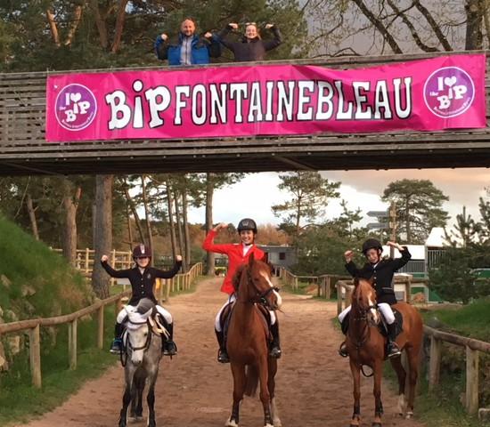BIP Fontainebleau, 3 podiums !! Bravo les champions